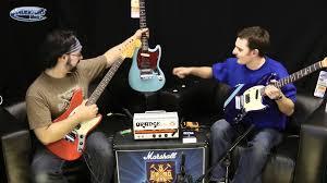 fender mustang players kurt cobain fender mustang guitars at andertons