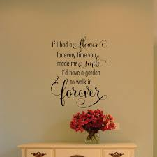 garden to walk in forever wall quotes decal wallquotes com