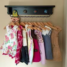 Ikea Wall Hanger by Playful Space Saving Baby Clothing Rack Wall Hung Ikea Hackers