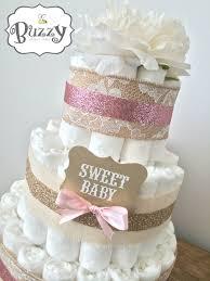 Shabby Chic Baby Shower Cakes by Best 25 Vintage Diaper Cake Ideas On Pinterest Diaper