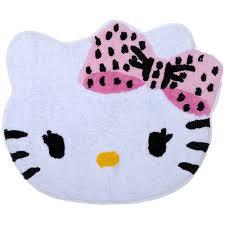 Hello Kitty Halloween Basket by Hello Kitty Dots J U0027adore Tufted Bath Rug Walmart Com