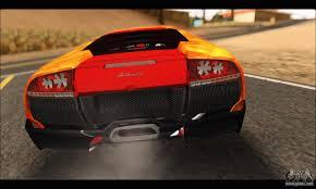 Lamborghini Murcielago Back - lamborghini murcielago in flames for gta san andreas