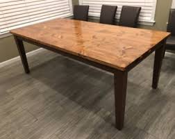 Farmhouse Table Legs Etsy - Kitchen table legs