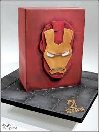 ironman cake superheroes star wars cakes pinterest ironman