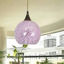 Purple Pendant Light Shade Purple Glass Pendant Light U2013 Runsafe