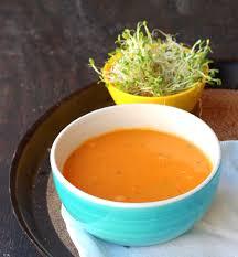 butternut squash soup with gochujang