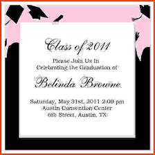 free graduation invitation templates for word u2013 diabetesmang info