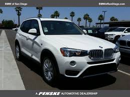 2017 new bmw x3 sdrive28i sports activity vehicle at bmw of san