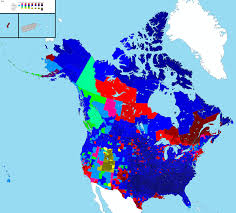 Maps North America by Marvellous Maps North America Religion Breakdown Travel And Escape