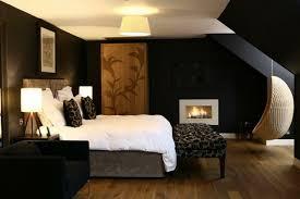 schwarzes schlafzimmer schwarze möbel schlafzimmer