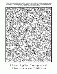 hard color by number coloring pages coloring home