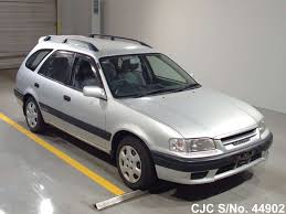 1998 toyota carib silver for sale stock no 44902 japanese