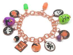 copper charm bracelet images Copper halloween charm bracelet jpg