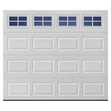 Single Garage Shop Pella Traditional 108 In X 84 In Insulated White Single