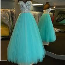 aliexpress com buy fashionable blue a line princess beaded prom