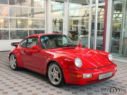 porsche 964 red porsche 964 turbo 3 6 coupé auto salon singen