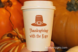 thanksgiving cups personalized thanksgiving cups paper coffee hot cups
