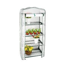 4 tier portable warm greenhouse winter gardening house plants with