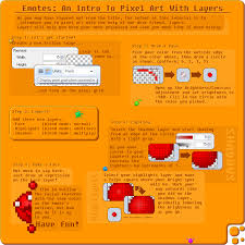 emotes pixel art with layers creations paint net forum