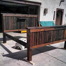how to make your own pallet bed frames ideas awesome and make