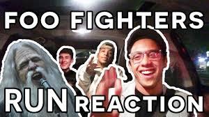 Foo Fighters Meme - foo fighters run reaction in an uber youtube