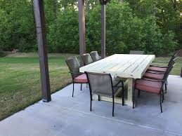 Ana White Patio Furniture Ana White Patio Table Diy Projects