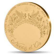noces de mariage médaille noces d or 50 ans de mariage monnaie de