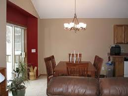 blue accent walls in living room interior painting red canary