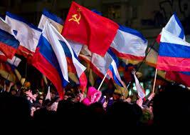 Eussian Flag After The Vote Crimeans Raise Soviet Flag Nbc News