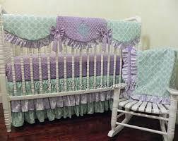 baby crib bedding set carissa pink and gold baby