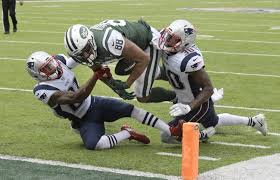 jets fall to pats after controversial fumble call in 24 17 loss