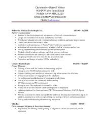 Sample Contract Specialist Resume chris mitter resume