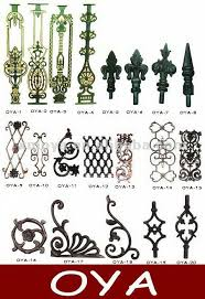 ornamental cast iron wrought iron components manufacturers in