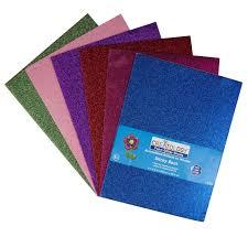 creatology adhesive foam glitter sheets 9