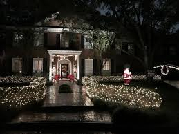 christmas lights that look like snow falling let it snow buzzing about snow in houston the buzz magazines