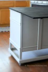 How To Build A Movable Kitchen Island Dresser To Kitchen Island Cart Diy With Chalkyfinish Paint