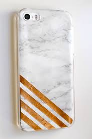 diy copper u0026 marble phone case