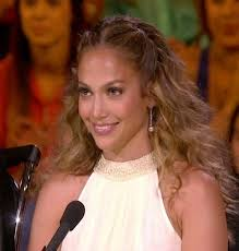 j lo ponytail hairstyles center parting half up half down hairstyle jennifer lopez