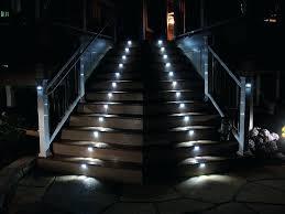 outdoor stair lights best lighting patio u2013 newlevel site