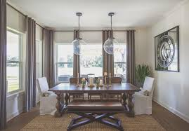 Transitional Style House - dining room awesome transitional style dining room decor color