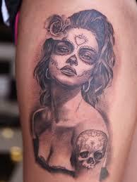 9 best dead women skull tattoos images on pinterest beautiful
