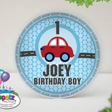 birth plate keepsake personalised melamine kids birthday keepsake plates