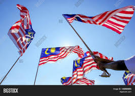 Maylasia Flag Hand Waving Malaysia Flag Known Image U0026 Photo Bigstock