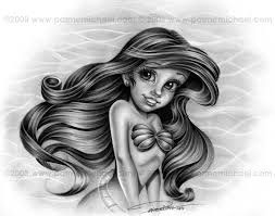 little mermaid tattoo sketch photo 1 photo pictures and