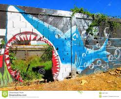 urban art shark editorial photo image of photo cumana 48571661 editorial stock photo