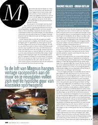 magnus walker loft magnuswalker911 for you dutch readers out there magnus in top