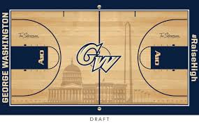 Gwu Floor Plans Gwsports Com Gw Athletics Unveils New Floor Design At Charles E
