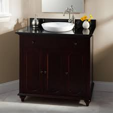 bathroom cherry wood bathroom vanity chocolare under square