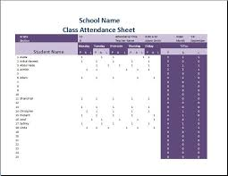 printable attendance sheets template word u0026 excel templates