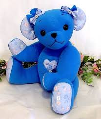 remembrance teddy bears 14 best baby memory teddy bears from clothes images on